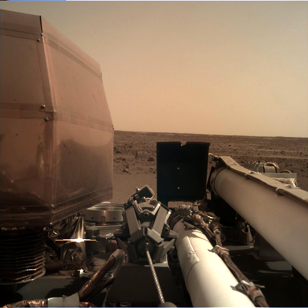 InSight landed on Mars!